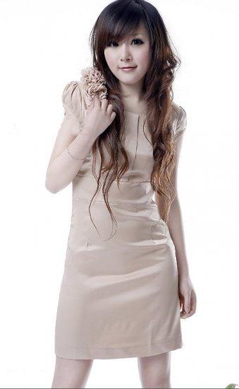 Creamy Latte Dress