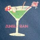 OLD NAVY Tropical Drinks Hawaiian Cotton Camp Shirt Size XL