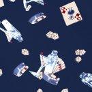DICE CARDS MARTINIS Gambling and Drinking Hawaiian Shirt Size Large (L)