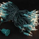 10 Clear Mini Lights 100 Light 50 Ft Long