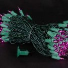 Purple Mini Lights 100 Light 50 Ft Long