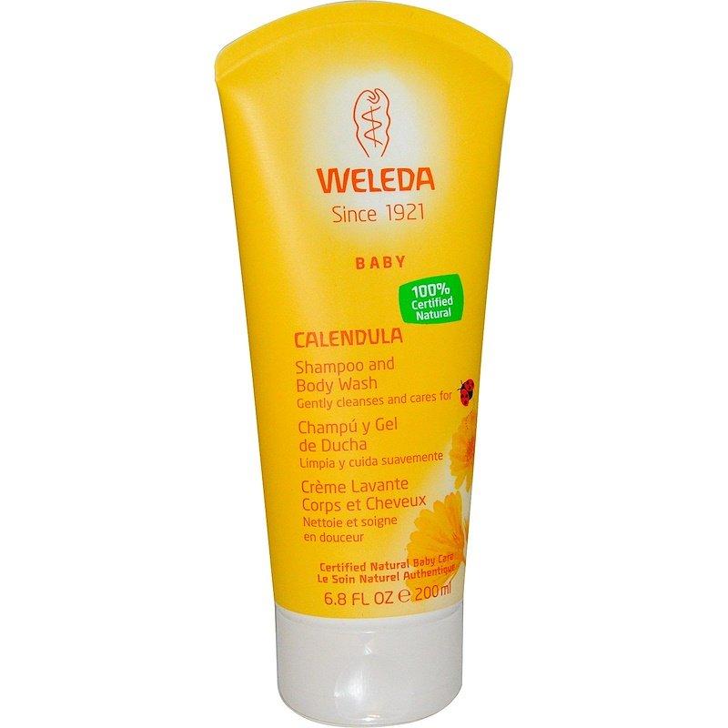 Calendula Baby Shampoo Body Wash 6.8 Fl Oz