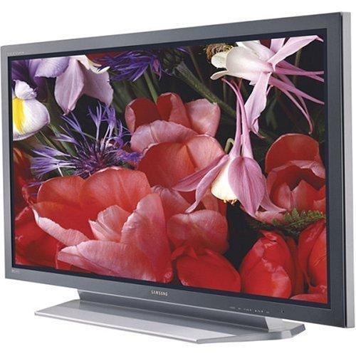 "Samsung Widescreen 42"" Plasma TV w/ Flat Panel Display"