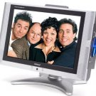 "Initial 17"" Widescreen LCD TV/DVD Player Combo"