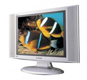 "Samsung 17"" HD LCD Flat-Panel TV"