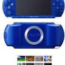 Sony Playstation Portable Blue Metallic Bundle + 41 Games