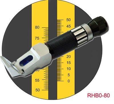 $89.99, 0-80% HD Brix Refractometer Syrup Jam Wine Beer Sauces