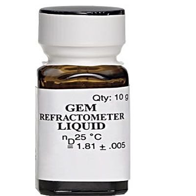 $74.99 GEM Gemstone Refractometer Refractive Index Fluid 1.81, ARSENIC FREE Made in USA