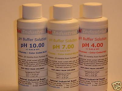 $9.25, 4.00pH Meter Calibration Buffer Solution - 4.00 pH 4oz (4 ounces)/120ml Bottle