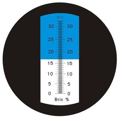 $34.99 Heavy Duty 0-32% ATC Brix Refractometer CNC Beer Wine, RHBN-32ATC - FREE S&H!