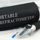 $27.10 Economy Honey Refractometer 4 Beekeeping Bees Brix 92 - Soft Case - High Sugar - FREE S&H!