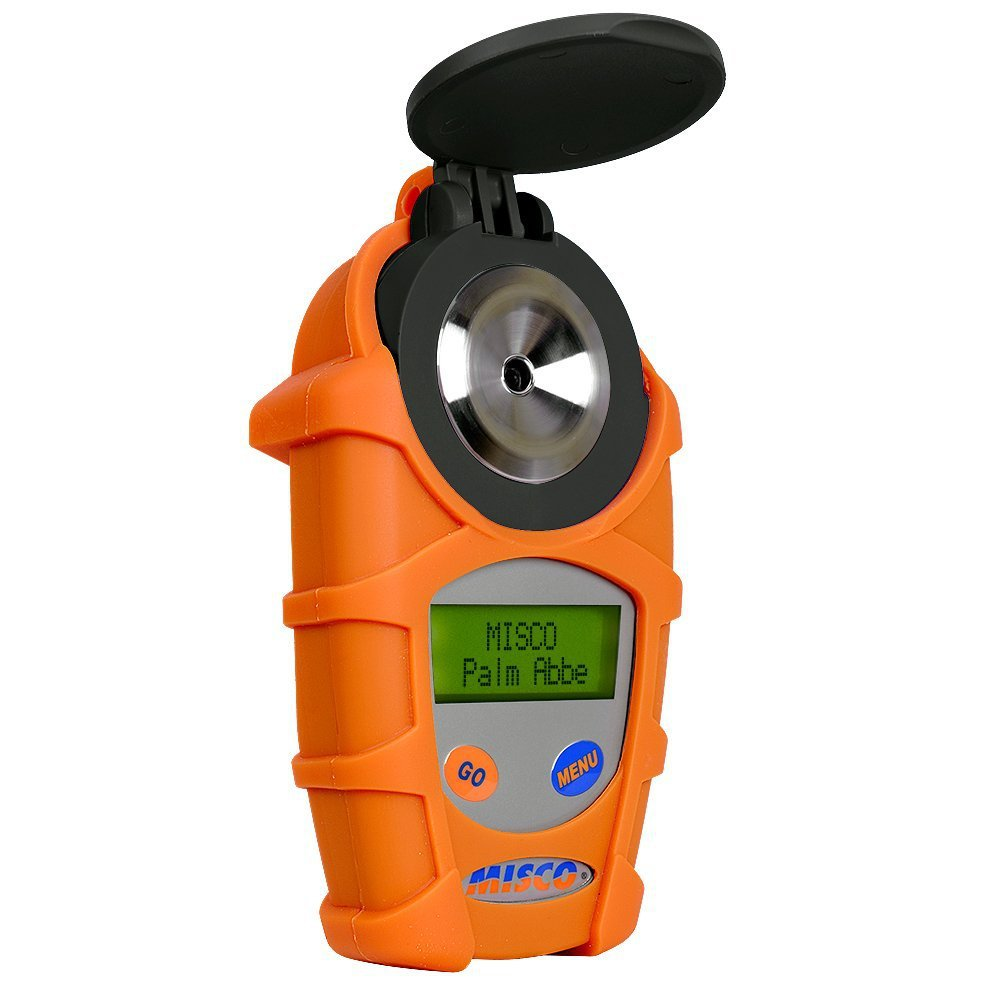 $534.99 MISCO DD-3 Palm Abbe Digital Dairy Refractometer, Colostrum Milk SUPER ACCURATE Armor Jacket