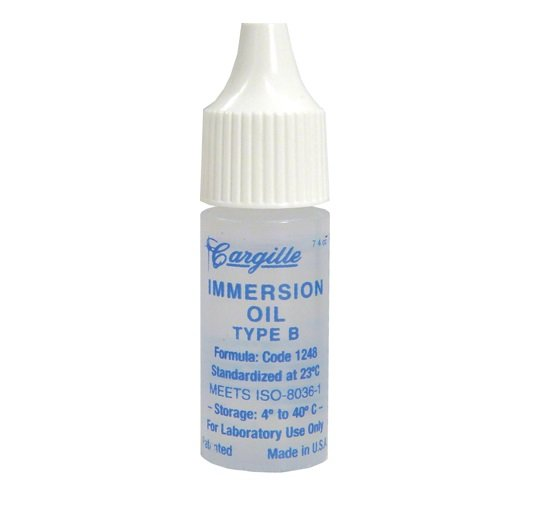 $7.90 Microscope Immersion Oil B, 1.5180nD Refractive Index, Non-Drying for Microscopy - FREE S&H!