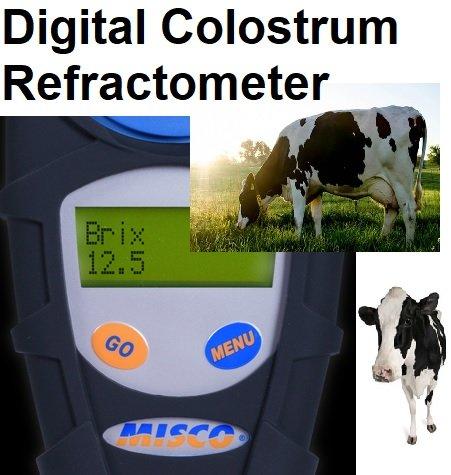 $299.99 Misco Palm Abbe PA201 0-56% Brix Digital Refractometer Colostrum Sugars Wort