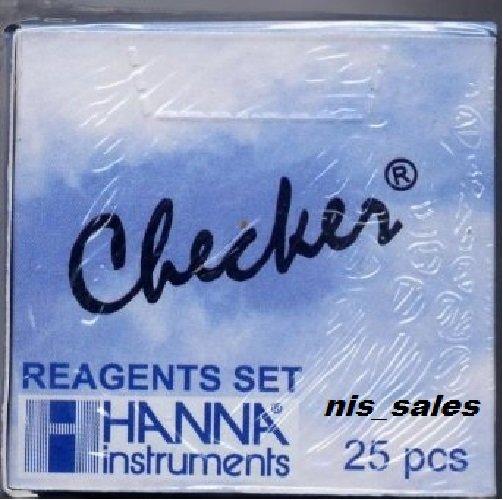$15.49 Hanna HI 711-25 Checker Total Chlorine Reagents HI711