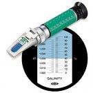 $99.99 FREE S&H Vee Gee STX-3 0-100% Salinity Refractometer w/ ATC Reef Sea Marine Water VeeGee