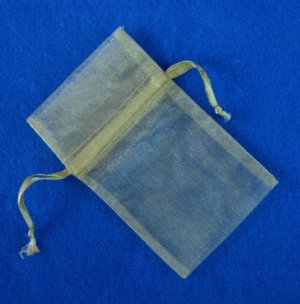 Gift Pouches - GREEN New Pack of 12 pcs OGP001