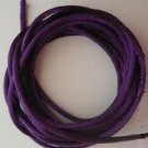 CORD, Satin - Rattail 12' 2mm PURPLE