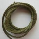 CORD, Satin - Rattail 12' 2mm OLIVE