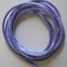 CORD, Satin - Rattail 12' 2mm PERIWINKLE