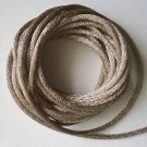 CORD, Satin - Rattail 12' 2mm TOFFEE