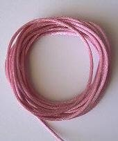 CORD, Satin - Rattail 12' 2mm VICTORIAN ROSE