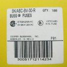 Bussmann Fast Acting Ceramic Fuse ABC-BV-30 R 125v  30a x 48 pcs