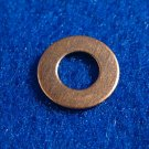 "Copper Washers - 1/4"" ID x 1/2"" OD 12 Pieces       CW1/4"""