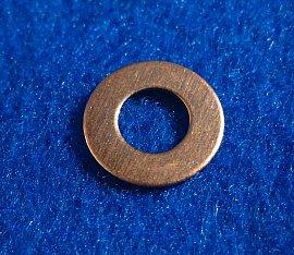 "Copper Washers - 1/4"" ID x 1/2"" OD 12 Pieces       CW1/4"""