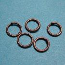 JUMP RINGS - Open 5mm Copper Tone    500 Pieces      JR5ct