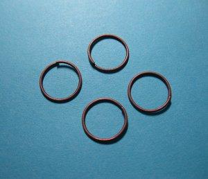 JUMP RINGS - Open 12mm Copper Tone     100 Pieces    JR12ct