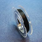TIGER TAIL Beading Wire 10 Meter Spool - BLACK  .015
