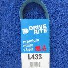X-Tra Duty L433 Heat Resistant 1/2 x 33 Inch V Drive Belt