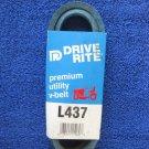 X-Tra Duty L437 Heat Resistant 1/2 x 37 Inch V Drive Belt