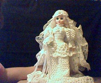 Mini Bride Doll
