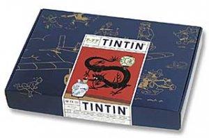 TinTin Puzzle Lotus Bleue,Herge (NEW)