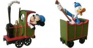 Disney Mickey & Donald Resin Figure Set (NEW)