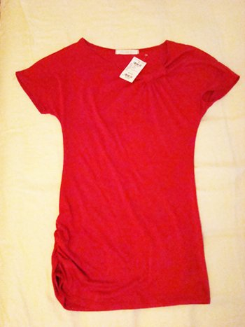 Charlotte Russe Knotted Top (Size S)
