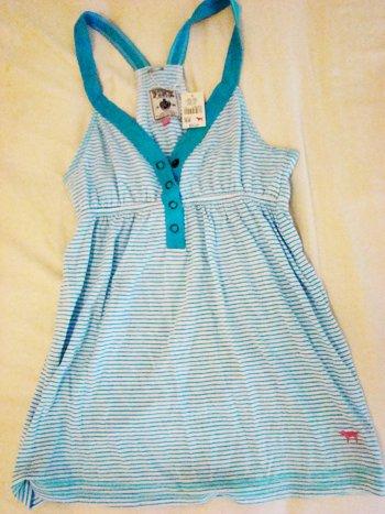 Victoria's Secret PINK Blue Baby Doll Tank (Size XS)