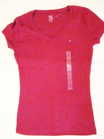 Tommy Hilfiger V-Neck Top (Size XS)