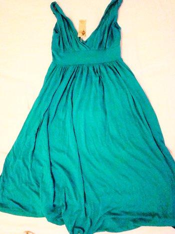 Mint Fashion Flowy Babydoll Dress (Size S)