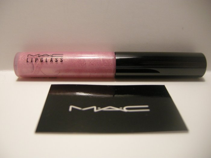 MAC Lipglass in Courting Rose