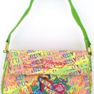 ED HARDY 100% Original Cynthia Short Shoulder Tote - Light Green