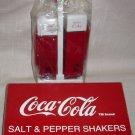 Coca-Cola Vendo 44 Salt n Pepper Shakers w/Holder