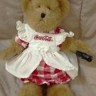 Coca Cola Lynette Boyd's Bear, Retired, NWT