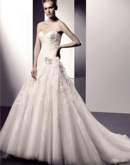 2010 White Wedding Dress Gown all Size DS007