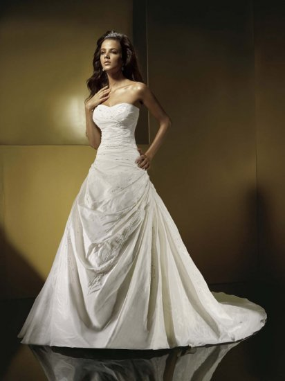 New Custom-made Romantic Sexy wedding Dresses Gown DS011
