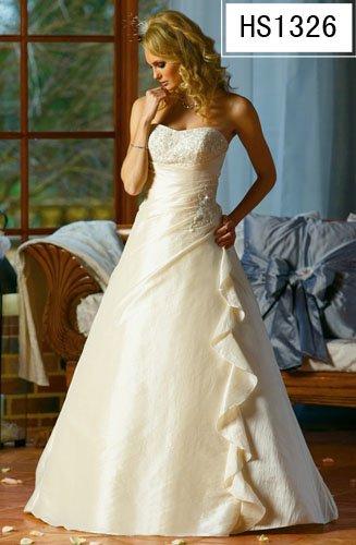 New Wedding Dress Bridesmaids Bridal Gown Custom/Hot DS015