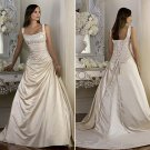 New style Custom-made wedding Dress bridal wear Gown DS017