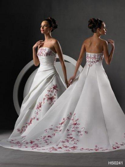 New Wedding Dress Bridesmaids Bridal Gown Custom/Hot DS019